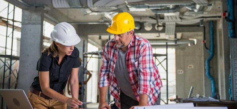 commercial-electricians-planning-for-work-at-the-site